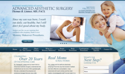 plastic, surgeon, surgery, website, launch, mommy, makeover, atlanta, ga