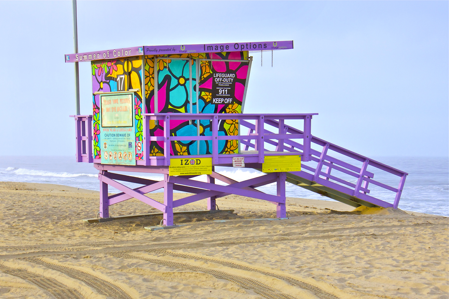 coloring pages of lifeguard stand - photo#25