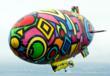 Portraits of Hope - Soaring Dreams Airship, National SF flight