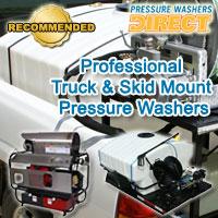 truck mount pressure washer, skid steer power washer