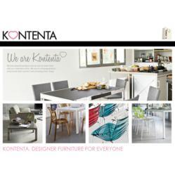 Kontenta, Designer Furniture