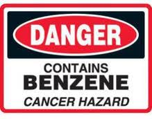 Benzene severe adverse effects threat