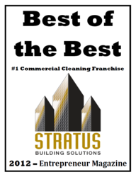 "Stratus is named ""Best of the Best"" by Entrepreneur magazine."