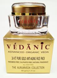 24 Karat Pure Gold Anti-Aging Face Pack