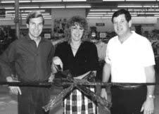 Thrift Town Ribbon Cutting, 1972