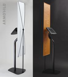 Armodilo iPad Kiosk - With Optional Banner Stand