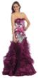Long Strapless Prom Dress