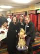 Sara Sroufe-Betty's handler, Jill Felice-founder of Assistance Dogs of the West, Spencer Wright - Betty's Puppy Raiser for ADW