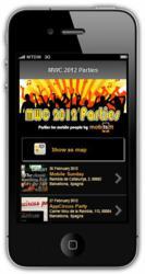 mob.is.it MWC 2012 parties web app
