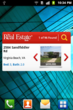 Sample Screenshot from The Real Estate Book's New Android App Widget