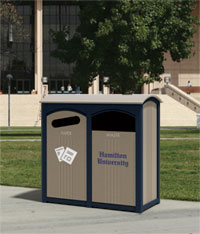 Halston Double Recycling Station