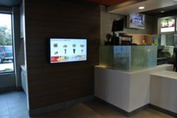 Interactive nutrition kiosk for Jonathan Chan, owner and operator of a McDonald's® franchise in Richardson, Texas.