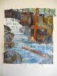 One of the Quilt for Two Rivers panels from over 20 fabric artists: Coming Home by Jean Wells, Sisters, Oregon