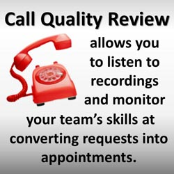 Dental Marketing Call Quality Review