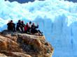 IES Abroad students at the Perito Moreno Glacier in Argentina