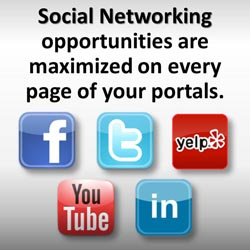 Dentist Website Social Networking