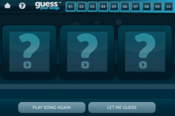 Play against your own iTunes library or branch out and play against the libraries of your Facebook friends and other Guess Your Songs community members.