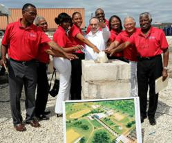 After Lusaka, a second Olympic centre is to be created - in Haiti