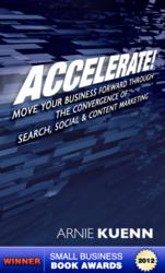 internet marketing book, accelerate, arnie kuenn