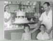 Sigmund Jucker, Co-Founder Three Brothers Bakery, with Son and Daughter - Bobby and Susan