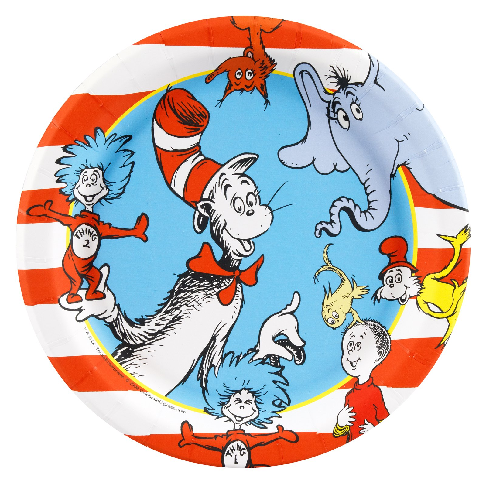 Cat In The Hat Characters: BirthdayExpress.com Hosts Dr. Seuss 75 Years Of
