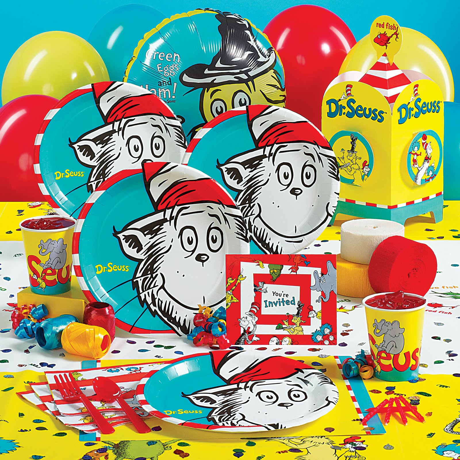 Dr Seuss Party Decorations Dr Seuss Decorations Party City Theodore Roosevelt Party