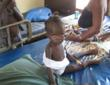 Child saved from typhoid fever at Mercy Hospital