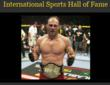 UFC's Randy Couture gets Inducted into the Sports Hall of Fame!