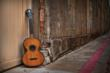 Parlor Guitar - 1840 Nicolas Henry Original, made in Mirecourt, France