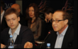 Roundtable discussion with Dmitry Itskov and Ray Kurzweil
