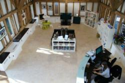 Fit Out Image of Barn in Surrey