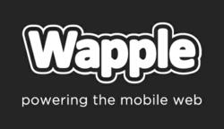 Wapple Logo Powering The Mobile Web