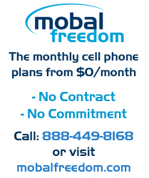 Mobal Freedom No Contract Cell Phone Plans