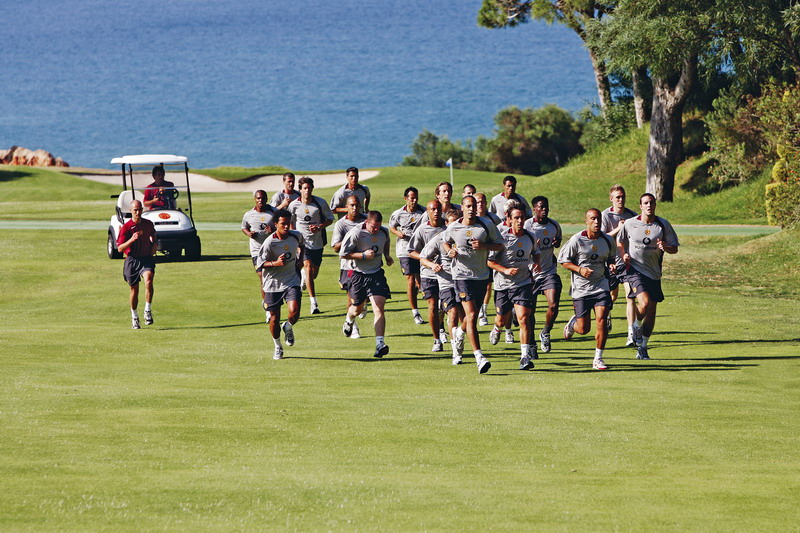 Kids Get Sporty At Vale Do Lobo Algarve This Easter Football And Golf Courses For Under 16s
