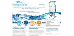 Packaged pump systems manufacturer, QunatumFlo response to global market demand with new brand image and website.