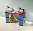 Build a fun children's desk quickly and easily
