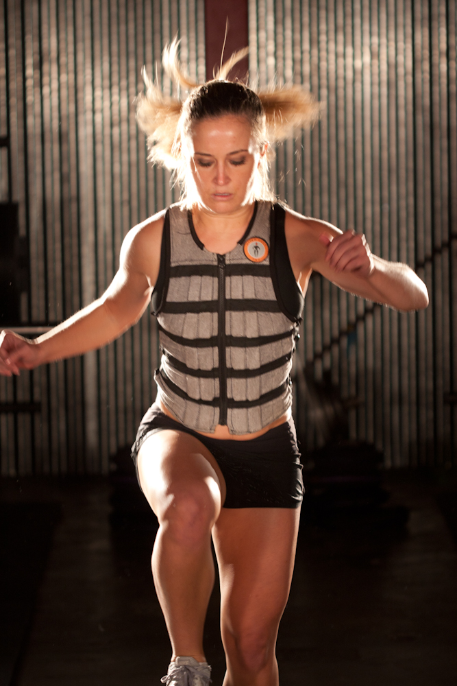 Hyperwear® Workout Equipment Selected by The Daily Grommet. Weight Vest and SandBell® Medicine