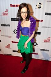 Award-winning Singer/Songwriter Lisa Sniderman, aka: Aoede on the red carpet at the Artists In Music Awards - photographer: Mickey Yeh
