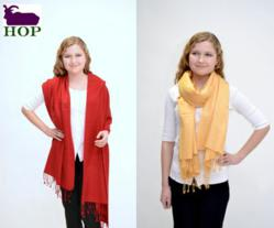 Spring Pashmina Collection from HOP Cashmere
