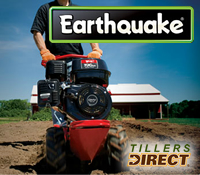 earthquake garden tiller, earthquake tillers, earthquake cultivator, earthquake mini tiller