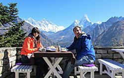 Romantic Getaway in the Himalayas