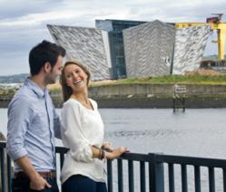 "Opening in March 2012, Titanic Belfast® will be a ""must see"" visit in any tour of Belfast and Northern Ireland."