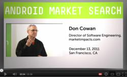 Presentation delivered to the San Francisco Android User Group in December 2011.