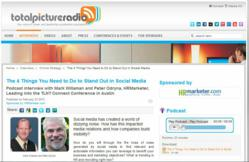 SocialEars on Total Picture Radio