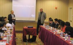 Ben England and FDAImports.com and ExportToUsa.com.cn Team Present to Hubei Delegation
