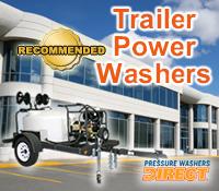 trailer mount power washer, trailer mount pressure washer, trailer pressure washer, trailer power washer