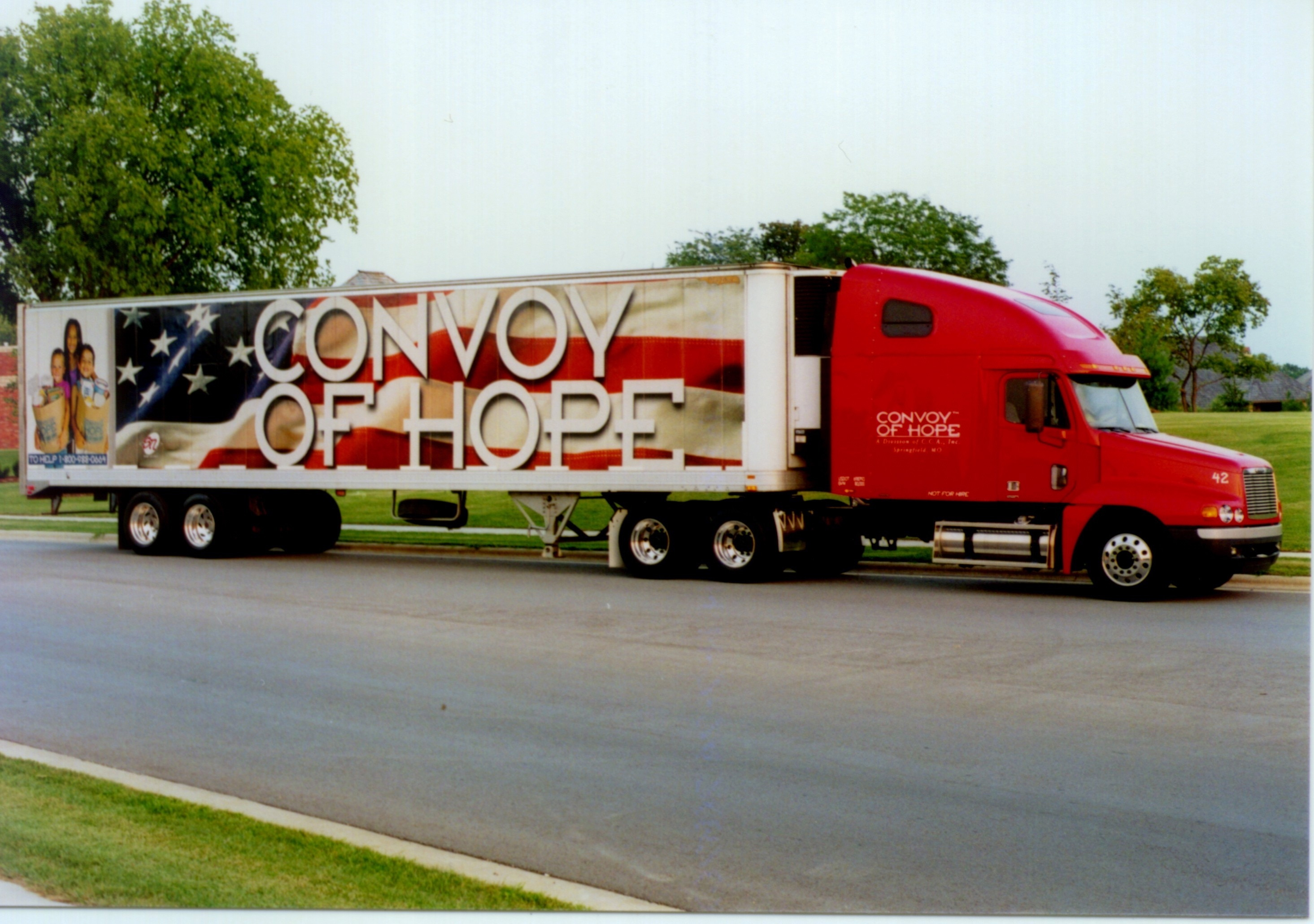 Convoy Hope Convoy of Hope Coming to Oahu