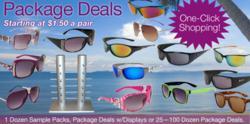 Bulk Sunglasses Package deals