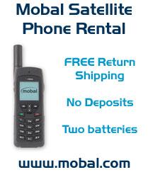 Mobal Satelite Phone Rental