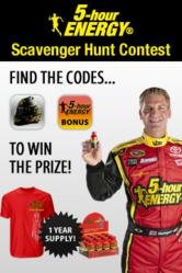 5-hour ENERGY® Scavenger Hunt Contest